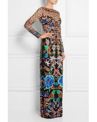 Temperley London - Black Baudelaine Embroidered Tulle Gown - Lyst