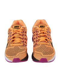 Nike - Orange Air Zoom Structure 18 Running Shoe - Lyst