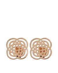 Ginette NY - Metallic Purity Studs Earrings - Lyst