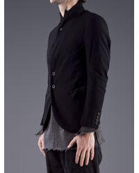Ziggy Chen - Blue Wool Coat for Men - Lyst