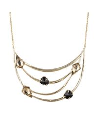Alexis Bittar | Metallic Gold Liquid Crystal Orbiting Bib Necklace You Might Also Like | Lyst