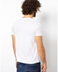 ASOS | White T-shirt With Crew Neck 3 Pack Save 17% for Men | Lyst