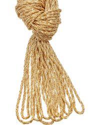 Aurelie Bidermann | Metallic Miki Dora Miki Goldplated Rope Necklace | Lyst