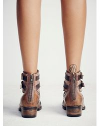 Free People - Brown Freebird By Steven + Womens Bonneville Ankle Boot - Lyst