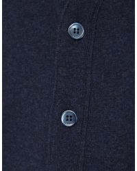Jules B - Blue Mens Geelong Lambswool Waistcoat for Men - Lyst