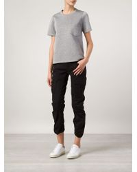 G-Star RAW - Black Cropped Jeans - Lyst