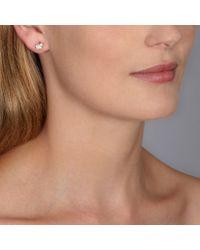 Hillier | Metallic Pretty Pave Bunny Earrings | Lyst