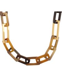 Maiyet | Brown Horn Necklace | Lyst