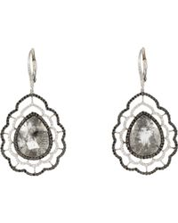 Sharon Khazzam - Metallic Nastasia Drop Earrings - Lyst