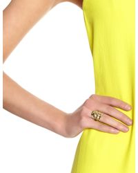 Annelise Michelson | Metallic Gold Simple Draped Ring | Lyst