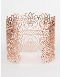 Gorjana | Metallic Lattice Cuff | Lyst
