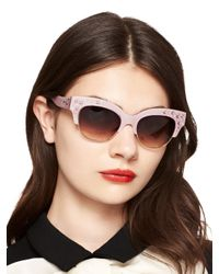 kate spade new york | Pink Dafny Sunglasses | Lyst