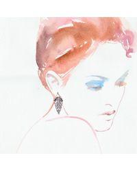 Lulu Frost - Metallic Demeter Earring - Lyst