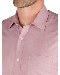 Racing Green - Jenson Tailored Fit End On End Formal Shirt for Men - Lyst