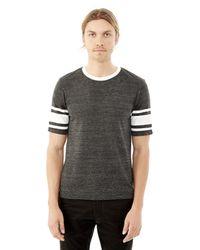 Alternative Apparel - Black Touchdown Eco-jersey T-shirt for Men - Lyst