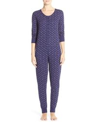 Jane & Bleecker New York | Blue Print Thermal One-piece | Lyst