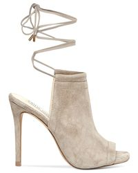 Steve Madden | Brown Sophie Ankle Wrapped Sandals | Lyst
