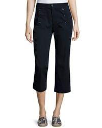 Étoile Isabel Marant - Blue Macey Cropped Pants - Lyst