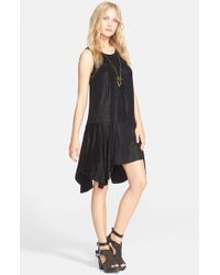 Free People | Black 'make It Count' Swing Dress | Lyst