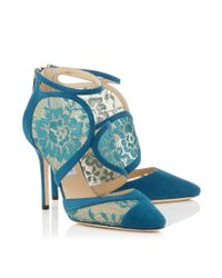 Jimmy Choo - Blue Fyber 100 - Lyst
