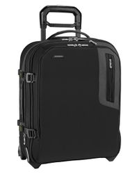 Briggs & Riley | Black 'explore' Wheeled International Carry-on for Men | Lyst