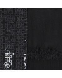 Liu Jo | Black 'sequins' Shawl | Lyst