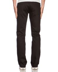 Unbranded - Black Tapered 14.5 Oz. Selvedge Chino for Men - Lyst