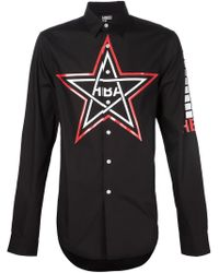 Hood By Air - Black 'hot Topic' Shirt for Men - Lyst