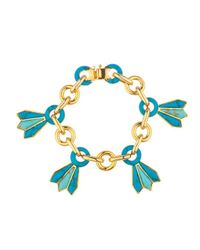 Noir Jewelry | Blue Growing Valley Bracelet | Lyst