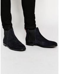 Polo Ralph Lauren | Blue Dillian Suede Chelsea Boots for Men | Lyst