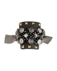 Gedebe - Black Bracelet - Lyst