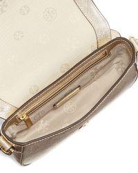 Tory Burch - White Robinson Mini Chainstrap Bag - Lyst