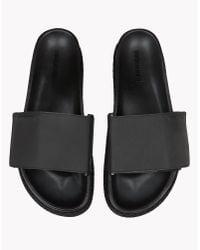 DSquared² | Black Shark Soon Sandals for Men | Lyst