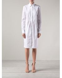 Altuzarra - White Poplin Shirt Dress - Lyst