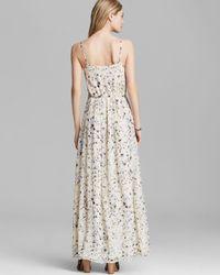 Joie - Blue Maxi Dress Maruceka Silk - Lyst