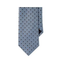 Ermenegildo Zegna - Blue Mixed-jacquard Necktie for Men - Lyst