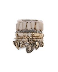 Samantha Wills | Natural Southern Sun Bracelet Set - Cream | Lyst