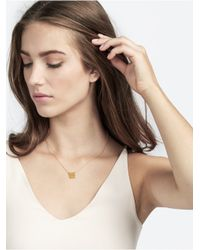 BaubleBar - Metallic Power Couple Pendant - Lyst