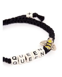 Venessa Arizaga | Black Queen Bee Bracelet | Lyst