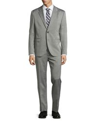 Just Cavalli - Black Two-button Merino Wool Suit for Men - Lyst