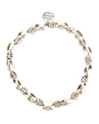 Philippe Audibert - Metallic 'Olive' Bracelet - Lyst