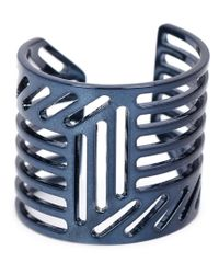 Pierre Hardy | Blue Grid Ring | Lyst