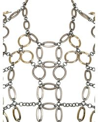 Lucia Odescalchi - Metallic Hag Chain Necklace - Lyst