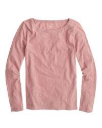 J.Crew - Pink Painter Tee - Lyst