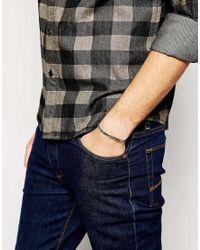 ASOS - Blue Lightweight Rope Bracelet for Men - Lyst