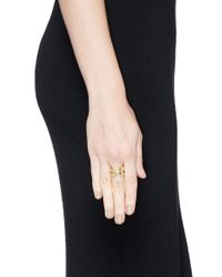 Philippe Audibert - Metallic 'serpent' Cutout Ring - Lyst