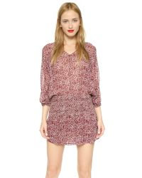 Ulla Johnson | Purple Samira Dress - Bordeaux | Lyst