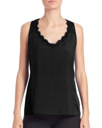Nanette Lepore - Black Electric Tank - Lyst