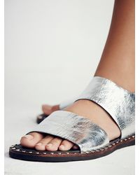 Free People | Metallic Ramsey Sandal | Lyst