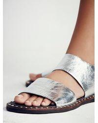 Free People - Metallic Ramsey Sandal - Lyst